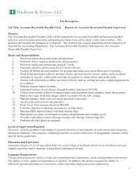 Accounts Payable Clerk Resume Sample Accounts Payable Clerk Resume