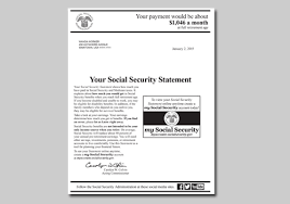 your social security statement is now