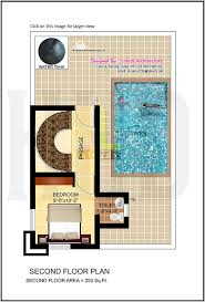 fascinating small house plans with swimming pool duplex homes zone