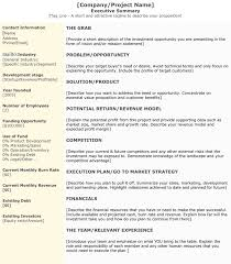 Format For An Executive Summary 3 Executive Summary Examples For Word And Pdf