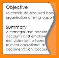 Objective Summary Resume 100 objective summary for resume emails sample 30