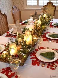 Table decorations  Winter Wonderland Christmas Tablescape