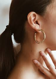 thick gold hoop earrings small ashley summer hoops earring mini jewelry inch medium emerald chandelier vera
