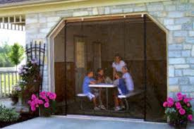 roll up garage door screenZip Roll Garage Door Screens For Buffalo NY  Western New York