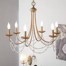 three posts reynal 6 light candle style chandelier reviews wayfair pertaining to elegant house 6 light chandelier decor