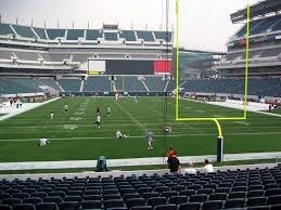 Lincoln Financial Field View From Lower Level 129 Vivid Seats