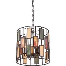 Lighting: Beautiful Rectangle Glass In Vertical Design Kitchen Pendant  Lighting With Air Vent And Chains