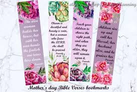 You're doing a lot of fiddling around on this one. Mother S Day Bible Verses Bookmarks Christian Mother Day Etsy