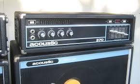 Acoustic amplifier bass vintage
