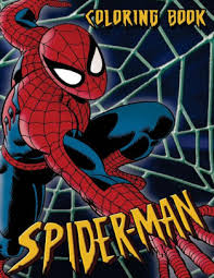 Spiderman in the city coloring pages, coloring painting spiderman on the roof of new york. Spiderman Coloring Book Coloring Book For Kids And Adults 45 Illustrations By Juliana Orneo Paperback Barnes Noble