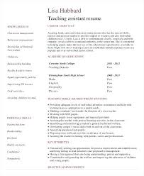 resume for teachers assistant 99 special education assistant resume learning support