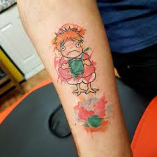 Tattoo буйство ярких красок тату в стиле акварель