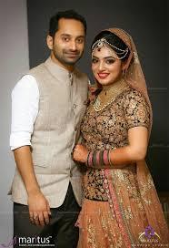 nazriya fahad muslim brides muslim couples bridal saree indian wedding jewelry