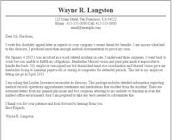 Writing An Appeal Letter New Sample Appeal Letter For License Suspension