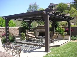 Brilliant Free Standing Patio Covers Cornerstone Patio Covers Decks