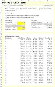 Total Interest Paid Formula Excel Loan Amortization Schedule With