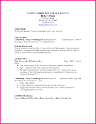 10 Computer Science Resume
