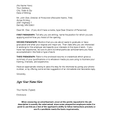 Cover Letter How To Address Experience Resumes