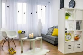 functional furniture for small spaces. a wall unit with open shelving and storage can be used as room divider to functional furniture for small spaces
