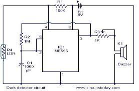 dark detector circuit electronic circuits and diagram dark detector circuit jpg