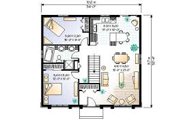 house plans for 1100 sq ft house luxury modern style house plan 2 beds 1 00