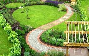 wooden garden walkway ideas creative paths uk yard landscaping curvy path designs to homes decorating extraordinary design lan