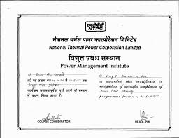 Certificate Of Completion Training Gorgeous Power Plant Training Certificates