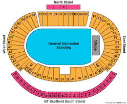 National Stadium Seating Chart National Stadium At Hampden Park Tickets And National