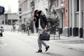 menswear inspired givenchy antigona wide brimmed hat leather biker jacket boyfriend jeans 3 copy