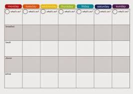 one week menu planner from fat to fit chick planning for the week