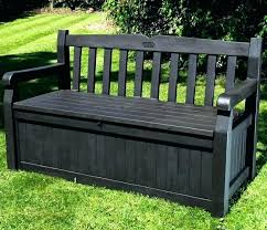 wooden storage bench seat plastic garden chest outdoor cushion bag patio table ideas pl