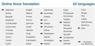 Pocket Translator Langie Online Offline Two Way Voice Translation