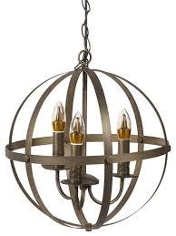 bennett 3 light chandelier oil rubbed bronze