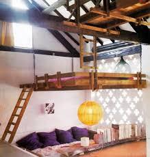Bedroom Designs: Gray Yellow White Bedroom Suspended Beds - Modern Bedroom