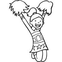 Hello kitty was born on november 1 in the suburbs of london and she lives there with her parents george and mary, and her twin sister, mimmy. Spirited Cheerleader Coloring Pages Surfnetkids