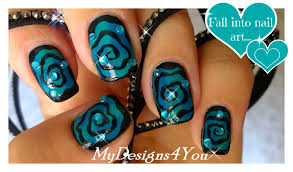 Halloween Nail Art | Hypnotic Swirl Nails ♥ Diseño de Uñas para ...
