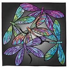 Hoffman Fabrics Dance Of The Dragonflies Quilt Kit by Joann ... & Hoffman Fabrics Dance Of The Dragonflies Quilt Kit by Joann Hoffman Multi  40 by 40 Adamdwight.com