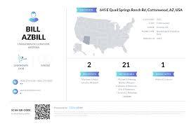 Bill Azbill, (928) 274-5928, 645 E Quail Springs Ranch Rd ...