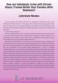 Apa Format Literature Review