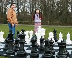 garden chess set. 20GP Container Can Hold 54sets Giant Chess Set. 40GP 108sets 40HQ 123sets Set Garden