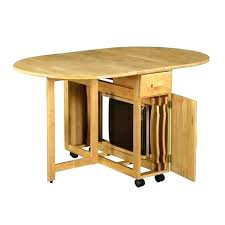 table with fold down sides dining