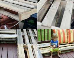 make pallet furniture. Bench : Diy Pallet Furniture Patio Makeover Awesome How To Build A Deck DIY Www Placeofmytaste Com Best Compelling Make