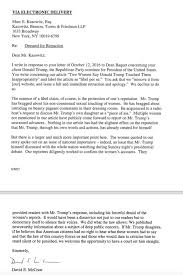 en letter cover letter example 0 52 image the new york times39s response to donald trump39s retraction letter patriotexpressus