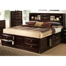 king size bed with storage drawers. Decorating Amusing King Size Bed With Drawers Underneath 21 Lyke Home Oxi Storage For Less On W