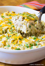 chicken casserole recipes.  Chicken The Absolute Best Creamy King Ranch Chicken Casserole Recipe   ASpicyPerspectivecom On Recipes K