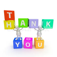 Word Thank You 3d People With Word Thank You Stock Photo Colourbox