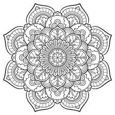 Small Picture Snowflake Mandala Free Coloring Page Coloring Pinterest throughout