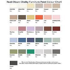 Rustoleum Paint Chart Rustoleum Chalky Finish Furniture Paint Handicentre