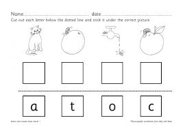 Printable phonics worksheets for kids. Letter Matching Worksheets For Reception And Ks1 Teachwire Teaching Resource
