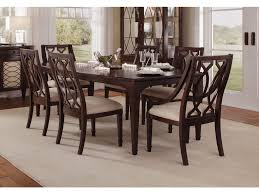 ART Furniture Dining Room 7pc Dining Table Set 2 wood arm and 4